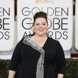 Melissa McCarthy lors des Golden Globe le 12 janvier 2013 à Los Angeles