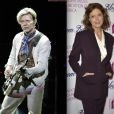David Bowie à Stockholm le 9 octobre 2003 / Susan Sarandon à New York le 7 mars 2014 (photomontage)