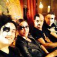 Sandrine Quétier et son groupe The Jokers, le 11 mars 2014.