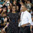 Michelle et Barack Obama à Miami, le 7 mars 2014.