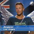 Benjamin - Les Anges de la télé-réalité 6 en Australie. 1 er  épisode diffusé le 10 mars 2014.