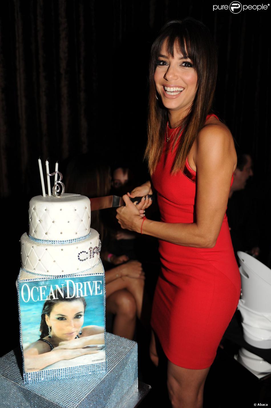 Eva Longoria fête la sortie du magazine Ocean Drive Magazine daté du mois de mars, à Destin en Floride, le 14 mars 2014.