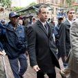 Oscar Pistorius, le 10 mars 2014, lors de son arrivée au tribunal de Pretoria