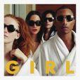 """Pharrell Williams - l'album """"G I R L"""" est dans les bacs depuis le 3 mars 2014."""