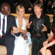 Seal, Heidi Klum, Mick Jagger et L'Wren Scott à Los Angeles, en 2006.