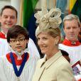 Sophie de Wessex à Westminster pour le service du Commonwealth Day le 10 mars 2014
