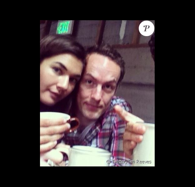 Teri Reeves et son mari Jonathan, le 25 juin 2013.