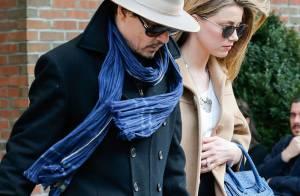 Johnny Depp et Amber Heard : Les fiancés, main la main, affichent leur amour !