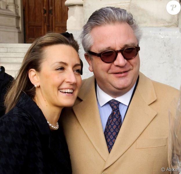 Claire et Laurent de Belgique le 17 février 2011 à Bruxelles