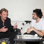 Johnny Hallyday sous champignons avec M : ''Et j'étais plus en forme que lui''