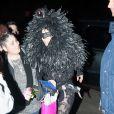 Lady Gaga se promène à New York, le 27 mars 2014.