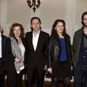 Gad Elmaleh : Si fier avec ses parents, son frère Arié et sa soeur Judith