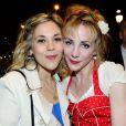 """Alysson Paradis et Julie Depardieu à l'avant-première du film """"Les Yeux Jaunes Des Crocodiles"""" au Gaumont Marignan à Paris, le 31 mars 2014."""