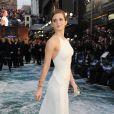 Emma Watson en Ralph Lauren lors de l'avant-première du film Noé à Londres, le 31 mars 2014.
