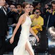 Emma Watson lors de l'avant-première du film Noé à Londres, le 31 mars 2014.