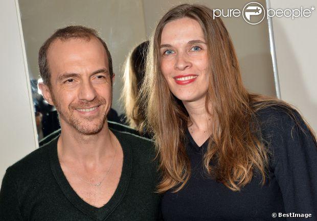 Kamel belghazi et sa compagne marine lors de la soir e d 39 ouverture du club c white paris le - Stephane marie et sa compagne ...
