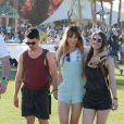 Joe Jonas et sa petite amie Bianda profitent du beau temps à Indio, à l'occasion du Festival de Coachella, le vendredi 11 avril 2014.