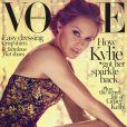Kylie Minogue en couverture du magazine Vogue, édition australienne, mai 2014.