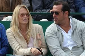 Estelle Lefébure et Adriana Karembeu: Fans de tennis amoureuses et chic à Monaco