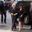 Dominique Strauss-Kahn et Anne Sinclair arrivant au tribunal de Manhattan, le 6 juin 2011 à New York.