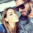 """Nabilla fait taire les rumeurs et assure être encore en couple avec Thomas Vergara, le 9 avril 2014 : """"#passionel #forever :-( #haters"""""""