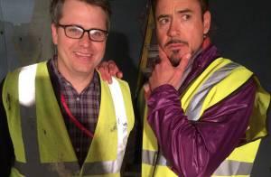 Robert Downey Jr. : Iron Man tourne Avengers 2... et fait le show