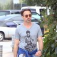 Robert Downey Jr. à Malibu, Los Angeles, le 10 avril 2014.