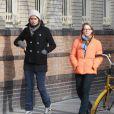 Jodie Foster et Alexandra Hedison dans les rues de New York le 19 janvier 2014