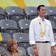 La princesse Cristina d'Espagne et son époux, fous de hand à Pékin