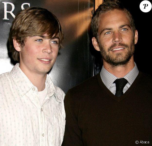 Cody et son frère Paul Walker à Los Angeles le 9 octobre 2006