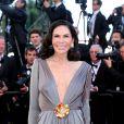 Mouna Ayoub au Festival de Cannes. Le 24 mai 2013.