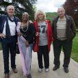 Exclusif - Bernard Le Coq, Firmine Richard, Mylène Demongeot et Henri Guybet (membres du jury) à l'occasion de la 8e édition du festival international du film policier de Liège, le 27 avril 2014.
