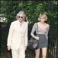 Bob Geldof et sa fille Peaches à Londres, le 2 juillet 2009.
