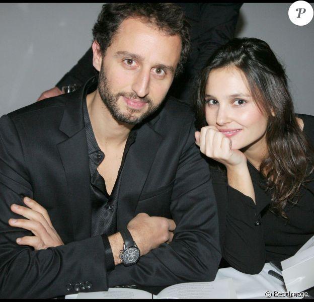 Arié Elmaleh et Virginie Ledoyen à Paris le 11 décembre 2008.
