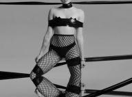 Miley Cyrus, encore plus trash : La starlette s'offre à moitié nue en mode SM !