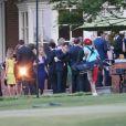 Le prince William et le prince Harry ont eu droit, avec leurs cousines Béatrice et Eugénie, a une visite privée de Graceland à Memphis le 2 mai 2014.