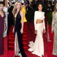 Selena Gomez, Georgia May Jagger, Rihanna et Leighton Meester au Met Gala 2014 à New York