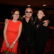 Laura Presgurvic : Si fière avec ses parents Gérard et Évelyne, Patrick Bruel...