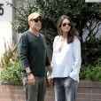 Bruce Willis et Emma Heming à Beverly Hills, Los Angeles, le 12 avril 2014.