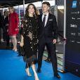 Le prince Frederik et la princesse Mary de Danemark lors de la finale du concours de l'Eurovision 2014 à Copenhague, le 10 mai 2014.10/05/2014 - Copenhague