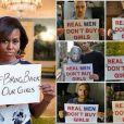 Michelle Obama s'engage pour les jeunes lycéennes nigérianes, tout comme Bradley Cooper ou encore Justin Timberlake. Voici aussi soutenez la cause avec le hashtag #BringBackOurGirls