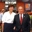 Diana Taylor et le maire de New York Michael Bloomberg