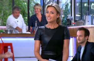 Anne-Sophie Lapix rempile pour ''C à vous'' : Avec de nouveaux chroniqueurs ?