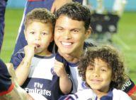 Thiago Silva et Thiago Motta (PSG): Papas champions, le titre se fête en famille
