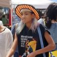 Exclusif - Willow Smith à Los Angeles, le 28 juillet 2013.