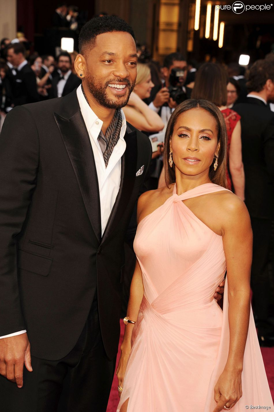 Jada Pinkett couple