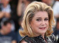 Cannes 2014: Catherine Deneuve, icône resplendissante au bras de Guillaume Canet