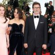 """Bérénice Bejo et son bien-aimé Michel Hazanavicius - Montée des marches du film """"The Search"""" lors du 67e Festival du film de Cannes le 21 mai 2014"""