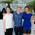 Anne Dorval, Antoine Olivier Pilon, Suzanne Clément lors du photocall du film Mommy au Festival de Cannes le 22 mai 2014