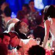Leonardo DiCaprio et Marion Cotillard - 21e gala de l'amfAR à l'Eden Roc au Cap d'Antibes en marge du 67e Festival du film de Cannes, le 22 mai 2014
